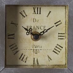 Lark Manor Wanderer Table Clock & Reviews | Wayfair