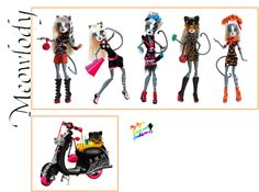 Following my Dreams : Third of Monster High character's dolls list is...