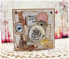 www.basiabartoszewicz.pl Diy And Crafts, Steampunk, Decorative Boxes, Digital, Paper, Frame, Cards, Search, Google