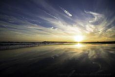 ある日の茅ケ崎海岸 。出張カメラマン、1歳のお誕生日撮影に行く。