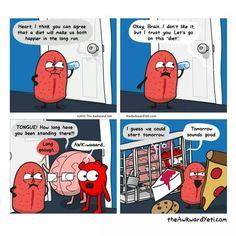 AWK-waaaaard - Heart and Brain - The Awkward Yeti