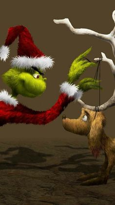 Disney World Christmas, Christmas Scenes, Christmas Art, Christmas Humor, Le Grinch, The Grinch Movie, Grinch Stole Christmas, Cute Disney Wallpaper, Wallpaper Iphone Cute