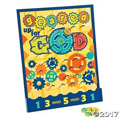 Geared Up for God VBS Disc Drop Game