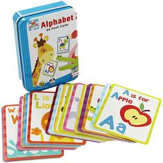 Alphabet And Number Flash Cards | Toys & Games - New In! at The Works £1.50