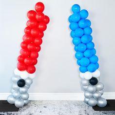 D.I.Y. Star Wars Lightsaber Balloons
