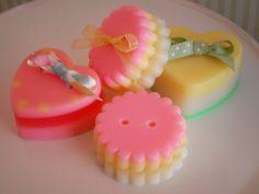 Cute As A Button Goats Milk Glycerin SOAP | Aromaliciousllc - Bath & Beauty on ArtFire