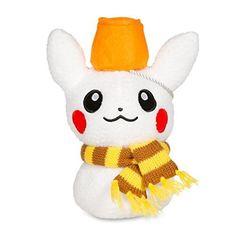 Pikachu | plush | Holiday 2014 |Snow Poké | Pokémon Center Original