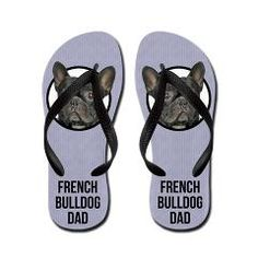 French Bulldog Dad Flip Flops> French Bulldog Dad> Cafe Pets