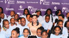 Miss America's glamorous appearances go for an unglamorous cause: a faith-based platform for the millions of kids with an incarcerated parent.