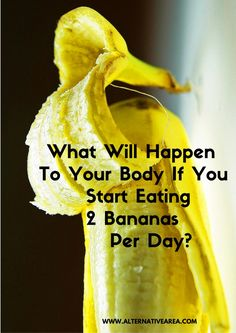 What Will Happen To Your Body If You Start Eating 2 Bananas Per Day? - Bikini Fitness