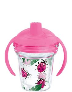 Lady Bug Tervis Sippy Cup from www.underthecarolinamoon.com #myfirstsippytervis #underthecarolinamoon