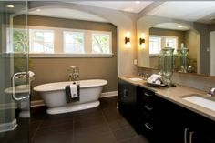 Remodeled our bathroom based on this pic