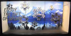 "ASICS ""Enjoy The Gift of Sports"" Winter Window Display"