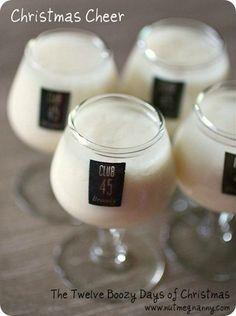 Egg Nog on Pinterest | Eggnog Recipe, Homemade Eggnog and Bourbon