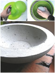 How to make a modern hypertufa planter to use outdoors in the garden - perfect for succulents! With this DIY hypertufa planter tutorial you can inexpensively make your very own garden containers out of concrete!