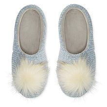 e8f8f935aef2f Mixit Chenille Pom Slip-On Slippers - JCPenney