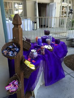Candy bar at our sweet sixteen celebration at the #kellogghouse #venue #reception #outdoorvenue  #sweetsixteen #candybar