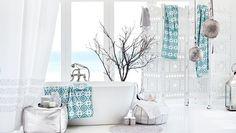 H&M - ocean breeze bathroom.