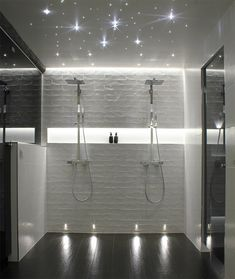 bathroom remodeling ideas is very important for your home. Whether you choose the bathroom remodeling or wayfair bathroom, you will create the best minor bathroom remodel for your own life. Hall Bathroom, Bathroom Spa, Bathroom Interior, Home Interior, Modern Bathroom, Master Bathroom, Bathroom Black, Shower Lighting, Bathroom Lighting