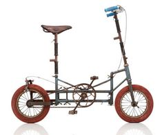 "INCONNU  1950, FRA Frame: Steel varnished Brakes: / Rim Side Pull Tyres: 14"" Wired Tyre / 14"" Wired Tyre Weight: 31,97 lbs"