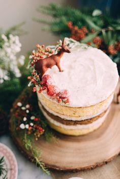 Constellation Inspiration: Vanilla Gingerbread Cake with Chai Mascarpone Buttercream
