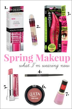Spring Makeup: What I'm Wearing Now - Back East Blonde