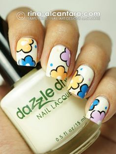 Nail art In Love with these... by Rina Alcantara