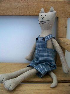chat en chanvre tissé artisanalement : Accessoires de maison par troglodyte-mignon