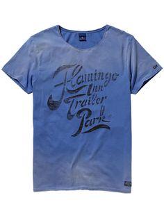 T-shirt au délavage vintage|T-shirt m/c|Habillement Homme Scotch & Soda