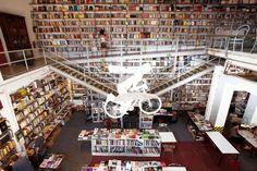 Ler Devagar Bookstore, Lisbon, Portugal
