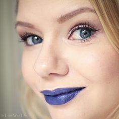 M.A.C - Matte Royal - Blue Statementlips on www.inlovewithlife.de
