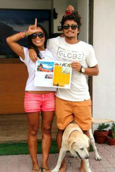 Elaine Abonal and Luke Landrigan Surfista Travels Philippines www.surfistatravels.com