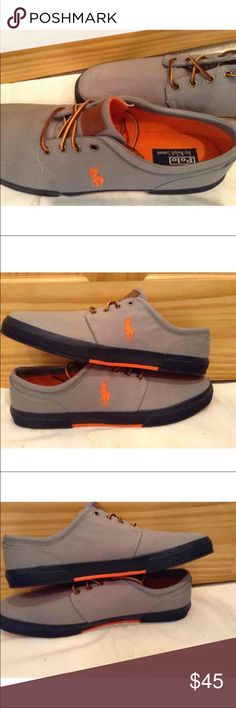 e5173055a New Polo Ralph Lauren Faxon Canvas Sneakers 17 This listing is for a NEW  pair of