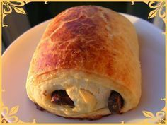 Pain au chocolat à la map et très rapide Cheese Danish Braid Recipe, Braided Bread, Bread And Pastries, Food Videos, Crepes, Love Food, Sweet Recipes, Brunch, Food And Drink