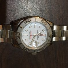 Rolex Yachmaster Men's Watch This is a lightly used Rolex Yachmaster watch. I have used it for two years now and had been very good to me. But I recently purchased a Submariner and have no need to keep this watch. Rolex Accessories Watches