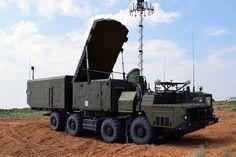 S-300 30N6E guidance radar during Keys to Heaven drills at polygon Ashuluk, Astrakhan region, on August 2, 2016