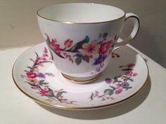 Vintage Wedgewood Tea Cup and Saucer Devon by TheDaintyBullet, $23.00
