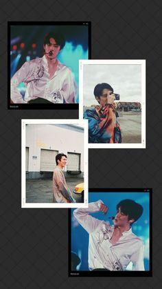 Chanyeol, Exo Kai, Kyungsoo, We Bare Bears Wallpapers, Cute Wallpapers, Sehun Cute, Exo Lockscreen, Bear Wallpaper, Hunhan