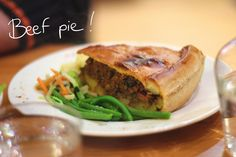 Beef pie at the Bapz !