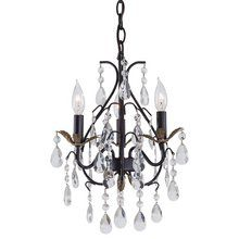 "View the Minka Lavery ML 3122 3 Light Crystal Mini Chandelier, 13.75"" Width by 18.5"" High at LightingDirect.com."