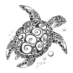Items similar to Turtle Wall Vinyl Decal Sea Ocean Animals Stickers Vinyl Art Design Murals Interior on Etsy Tribal Tattoos, Polynesian Tattoos, Ocean Tattoos, Largest Sea Turtle, Hawaiianisches Tattoo, Armband Tattoo, Turtle Tattoo Designs, Turtle Tattoos, Turtle Images