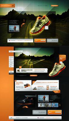 Nike Plus, Lunar Glide - andré luiz poli, interactive art director / visual designer
