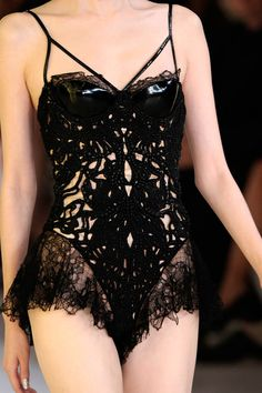 this would make a nice stripper suit  Alexander McQueen SS12