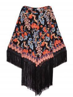 TALITHA / ROBE CHERRY BLOSSOM Disponible sur : http://www.bymarie.fr/marques/talitha/robe-cherry-blossom.html #talitha #vetement #clothes #dress #robe #boheme #chic #black #soie #silk #broderie #embroidery #frange #fringe #fashion #mode #paris #marseille #sainttropez #chic #bymariestore