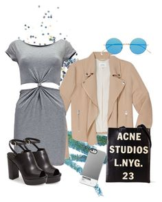 """Untitled #3"" by katlucker on Polyvore featuring Topshop, Manic Panic, Wilfred, Boohoo, Acne Studios and Illesteva"