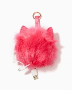 Kitty Pom Pom Phone Charger - 101218957