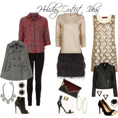 """Holiday Outfit Ideas"" by JA Runway 