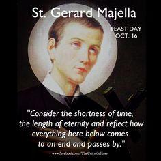 . Catholic Saints, Roman Catholic, Christian Faith, Christian Quotes, St Gerard Majella, St Ignatius Of Loyola, St John Bosco, Lives Of The Saints, St John Vianney
