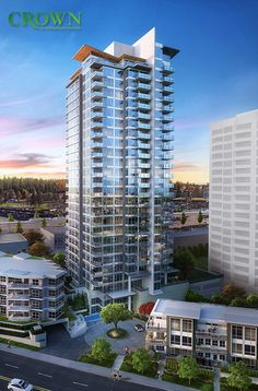 The new Coquitlam Crown at Burquitlam Station condos by Beedie Living.