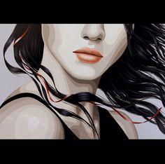 """Closer"" by Duma Oil on canvas, 100 x 100 cm www.dumaarte.com"